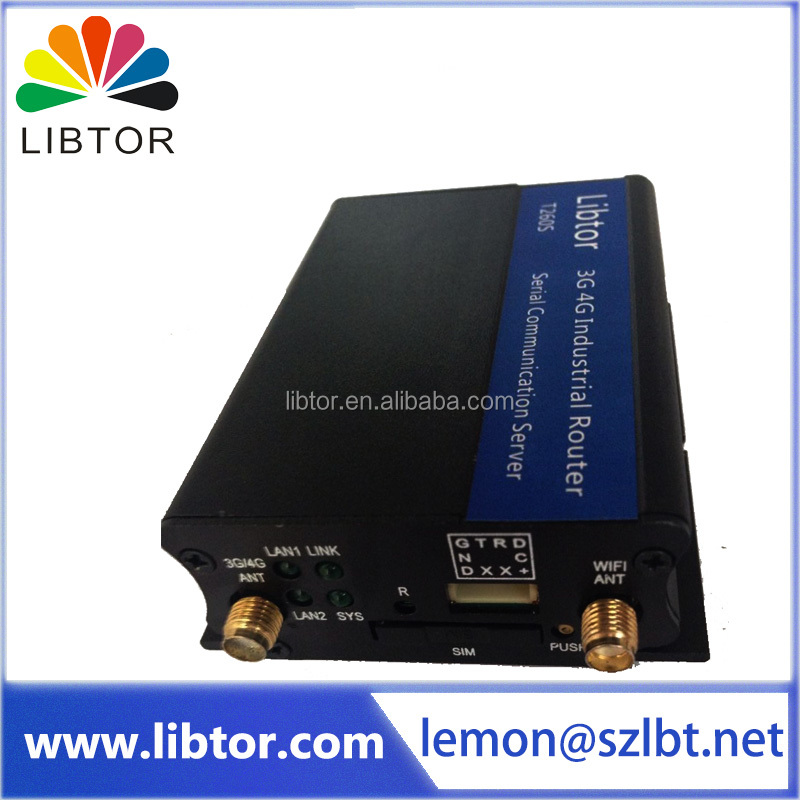 Libtor portable 3g wifi router adopting high grade industrial wireless module M350