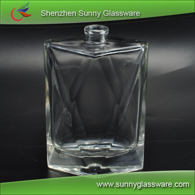 Perfume Bottle Atomizer Refillable Glass Gifts for Girls 83ml Clear