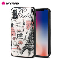 Ivymax China Wholesaler Fashion Accessories Phone Case Cover For Iphone X And For Iphone 8