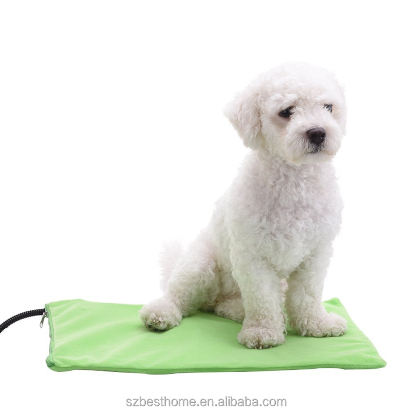 Electric heated pet warming mat for dogs and cats