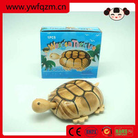 wooden rolling animal toy for gifts or decoration made in china