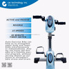 Hot Selling Physical Therapy Auto Rehabilitation Bike Fitness Equipment