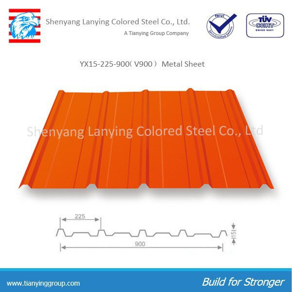 China building material metal roofing tile/metal roofing sheet