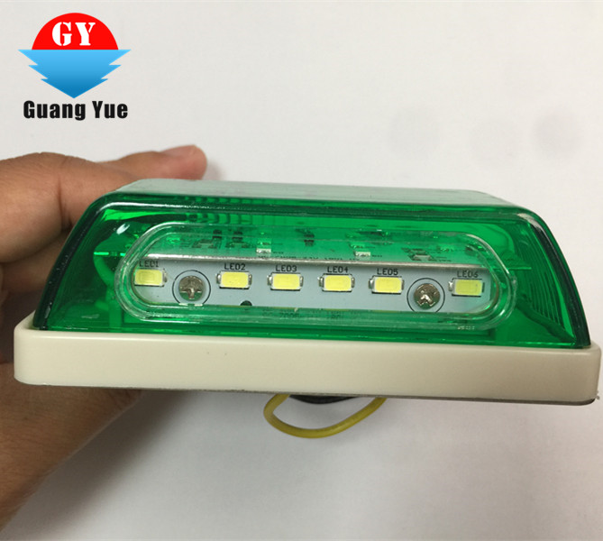 12V/24V Newest waterproof IP68 LED TRUCK SIDE LAMP yellow/red/blue/white/green