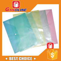Hot sell excellent file folder with elastic strap