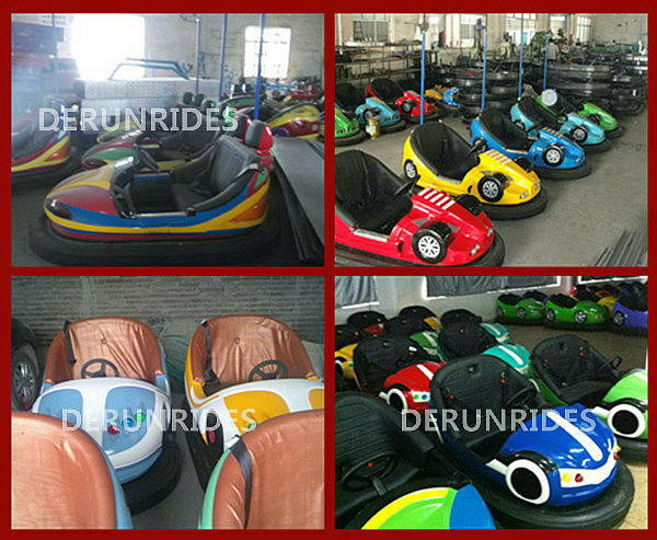 amusement park games outdoor electric bumper cars