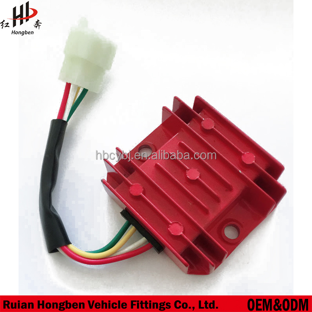 motorcycle voltage regulator rectifier 4 Pins GY6 125cc or 5 Pins ignition system