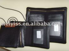 Leather checkbook cover , leather checkbook wallets with pen holder