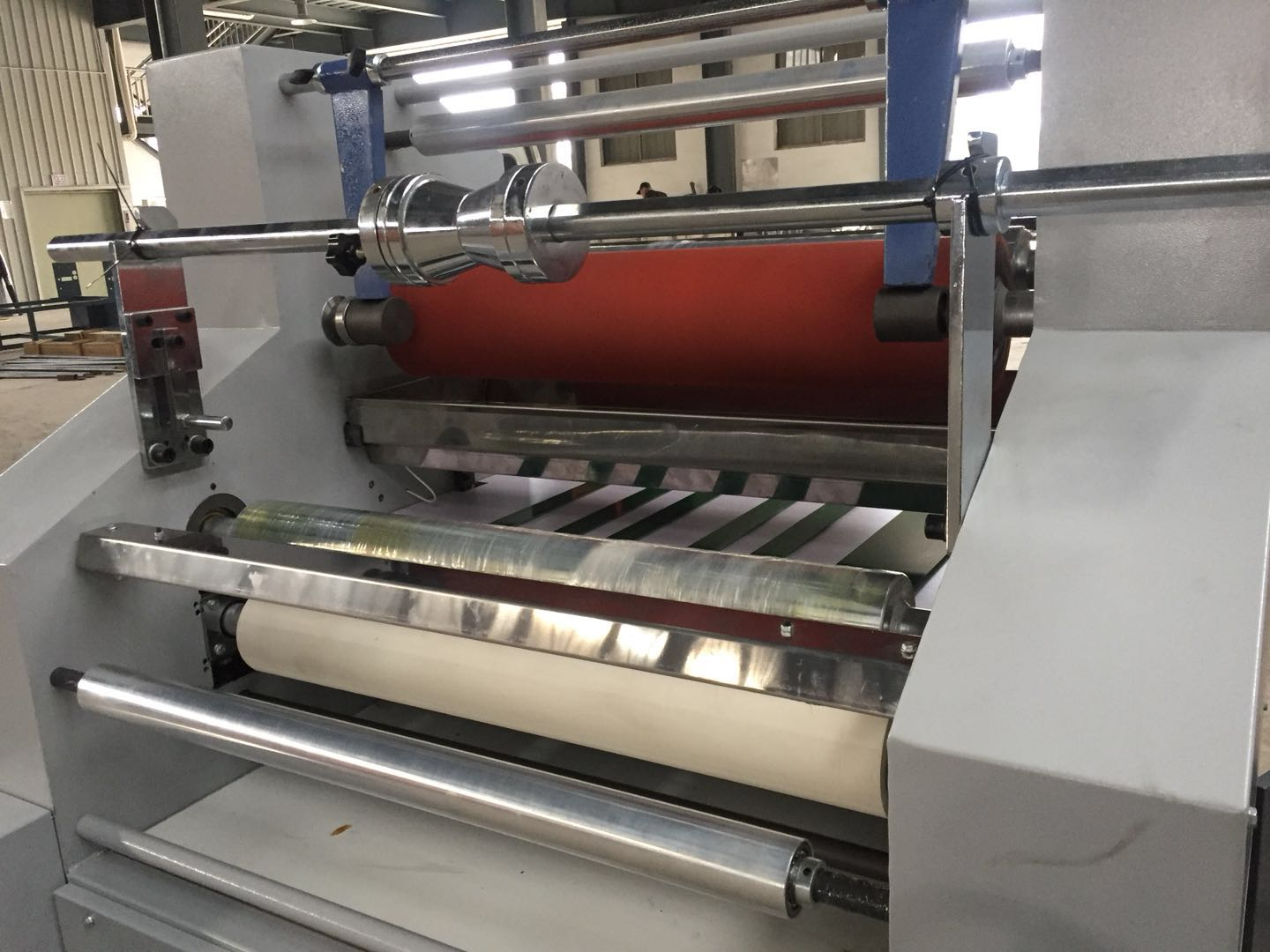High performance water-soluble bopp film laminating machine SFM-750/1000/1200 water-based laminating machine