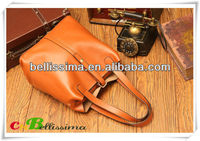 Hot Sale 2013 High Qualiy Genuine Cow Leather Handbag SY080101