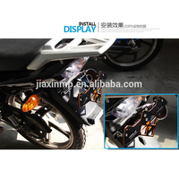 CNC Aluminum Motorcycle Accessories Dangling License Plate Frame