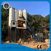 skip hopper types mechanical artificial concrete batching mixing plant