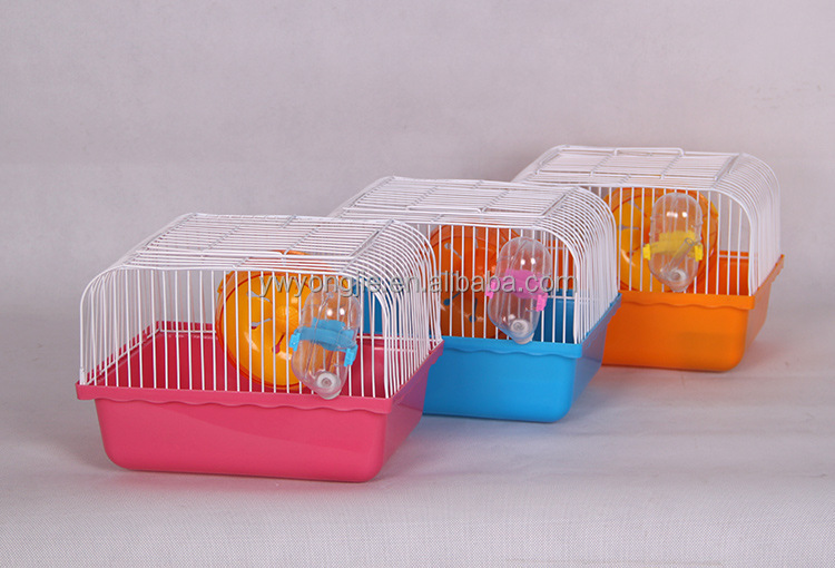 Lovely Small Pet Cage For Hamster Factory Direct Hamster Cage With Water Bottle And Toys