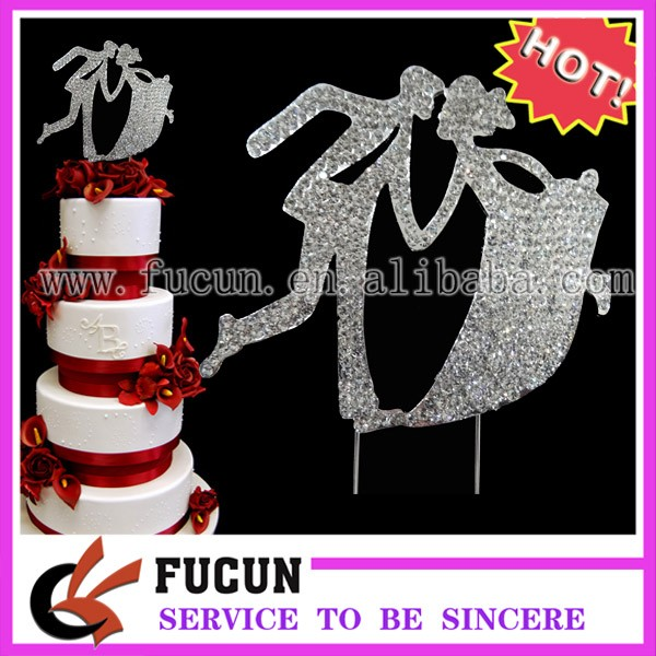 rhinestone bride and bridegroom cake topper 2d.jpg