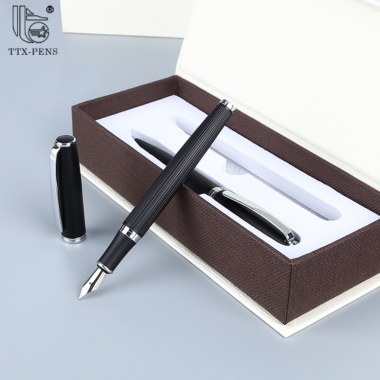 2019 Promotional Executive Gift Good Quality Metal Roller Pen And Ball Pen Set
