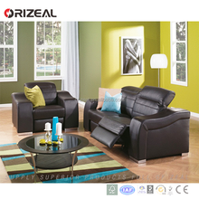Promotion Modern optional color 2/3 seater recliner sofa set living room furniture set Lowest price