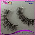 popular style #1090, brow color, Luxury sable fur strip eyelash