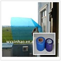Self adhesive protection film for window glass