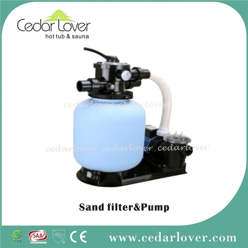 Hot tub spa water filter system
