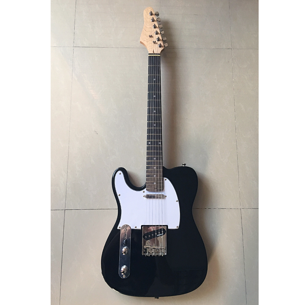 Oem china factory, hot sale cheap left-handed TL electric guitar