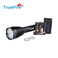 2015 new worklights TrustFire TR-J12 factory price portable led work light with 5*CREE XM-L T6 LED