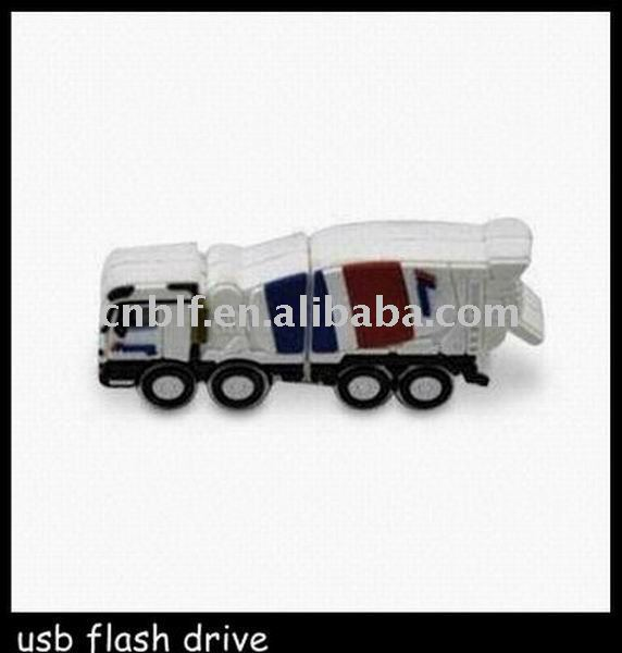 truck shape usb flash memory disk