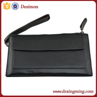 2015 fashion brand design genuine leather man handbags/hand wallet/hand business bag