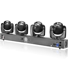 Hot Sale Stage Event Lighting RGBW Mixer Color LED 4 Heads Pocket Sharpy Beam Bar Moving Head Light For Pro DJ Equipment Set