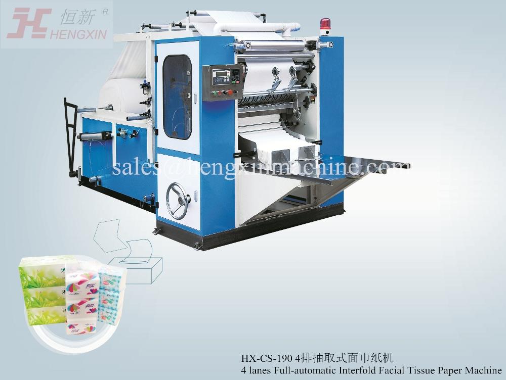 tissues machine