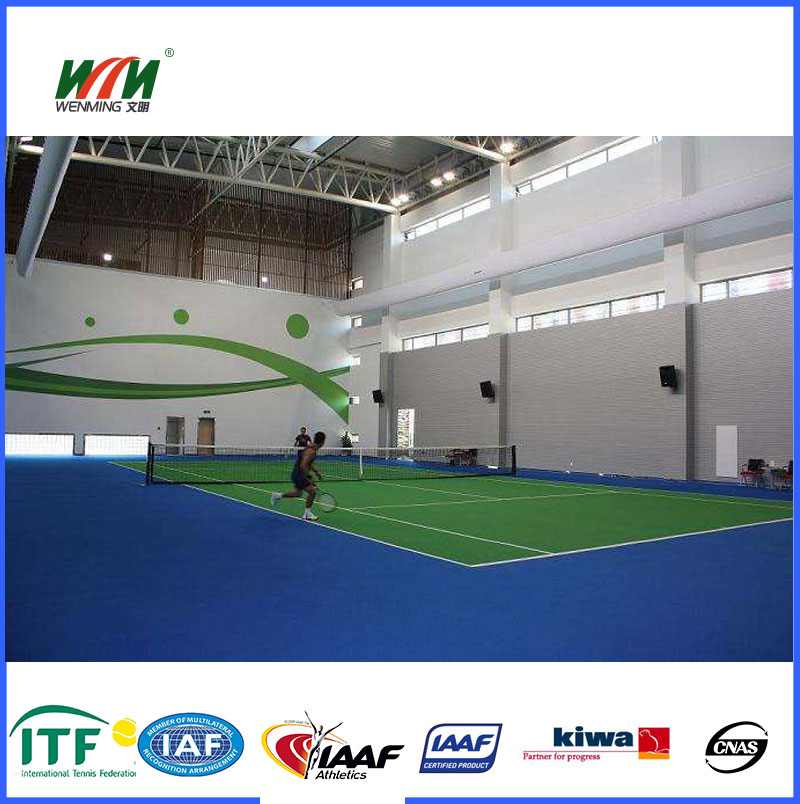 Construction of indoor badminton statium court