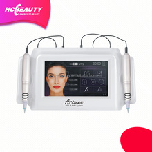 PMU and microneeding system permanent make-up machine