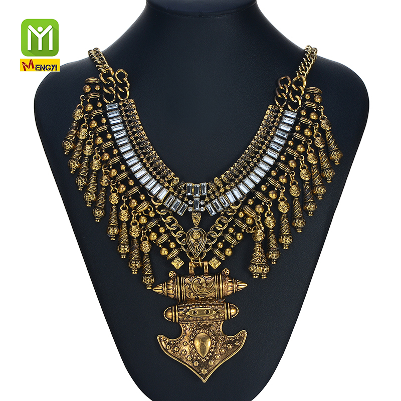 vintage jewelry wholesale bib statement necklace,snake design necklaces,2015 fashion germanium statement necklace jewelry