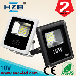 10w led smd Emergency slim flood light Zhong Shan Manufacturer