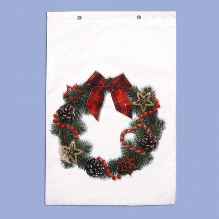 "Christmas bags ""Christmas wreath"""
