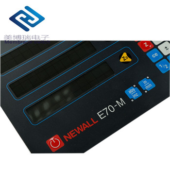 Technical Function push button led membrane switch