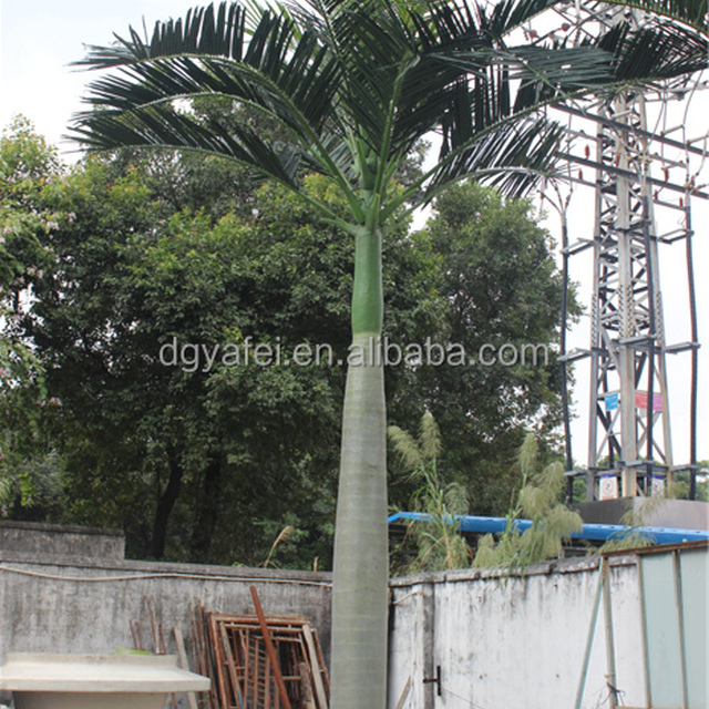 Various kinds of Artificial royal palm tree long life time fake palm tree