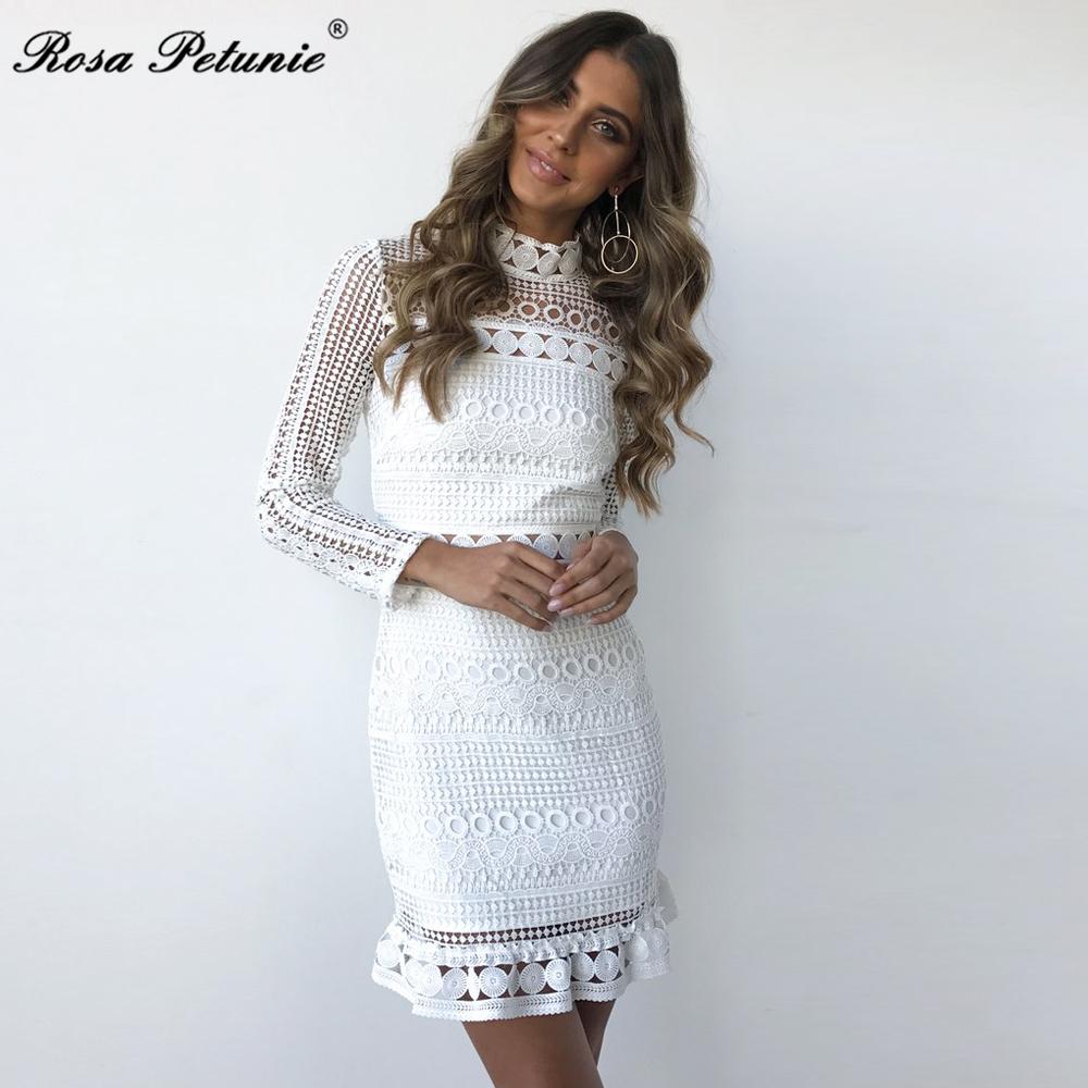 HTB1mzUYfJbJ8KJjy1zjq6yqapXas - Winter 2018 New Sexy White Lace Dress Women's High Quality long Sleeve Embroidery Cutout Elegant Dress Hollow Out Vestidos