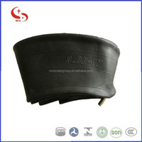 China factory 3.00-17 motorcycle nature and butyl inner tube