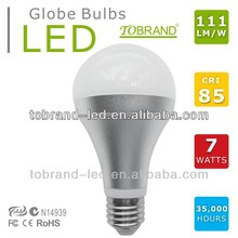111lm/W CRI>85 remote phosphor led bulb