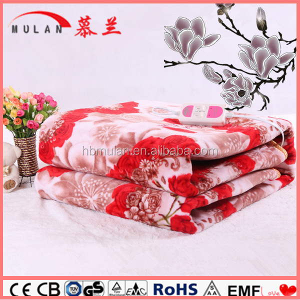 Portable Flannel Outdoor Heated Blanket