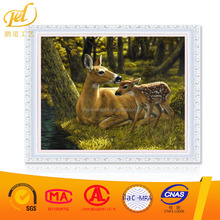Mother Love Elk Diy Diamond Painting Yiwu Factory Full Diamond With Frame Crystal Painting MQ77