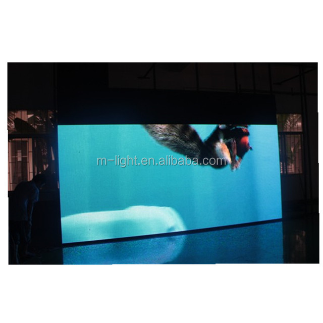 M-LIGHT 3.91 mm pixel pitch rental 20ft indoor led video wall screen hire for usa vegas