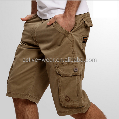 2017 Hot Stocklots Mens 3/4 6 Pocket Wholesale Men Half Pants Mens Cargo Shorts With Belts