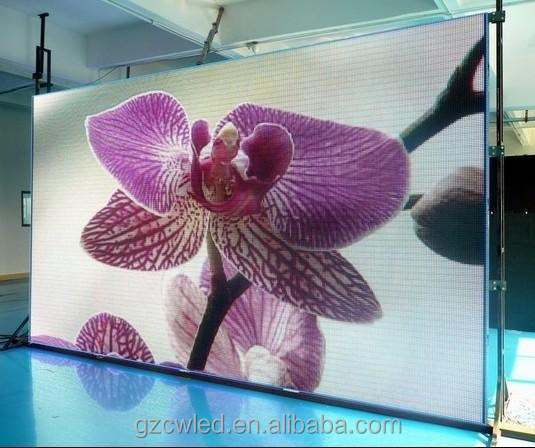 2015 Hot Sale High Quanlity Reliable and Flexible Led Display Indoor Full Color P4 led rent