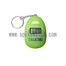 Green Egg -Shaped Talking Watch Reverse Watch