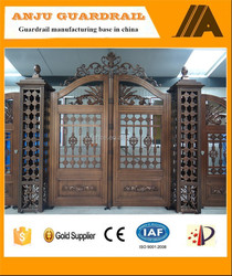 AJLY-612 2015 New kinds of Aluminum main gate designs for home