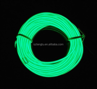 10 colors Optional 3M 2.33mm el wire with 12v inverter