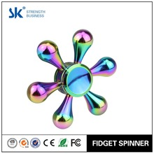 Sanke 2017 metal Hand Spinner Rainbow Color Fidget Spinner Colorful Water Drops Toy Hand Spinner for Anxiety Relief ,ADD,ADHD