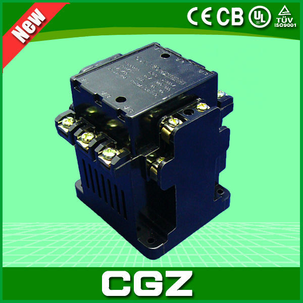 Single-phase electric contact 24 v dc contactor