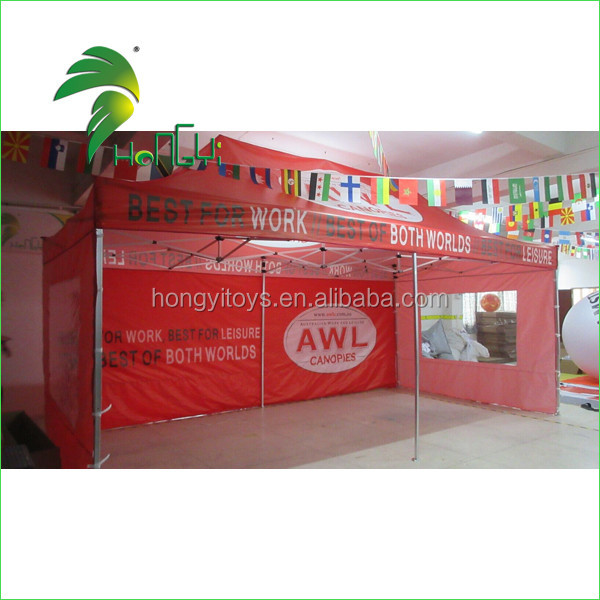 3x3m Aluminum Pop Up Canopy Factory Price Folding Tent With Side panels